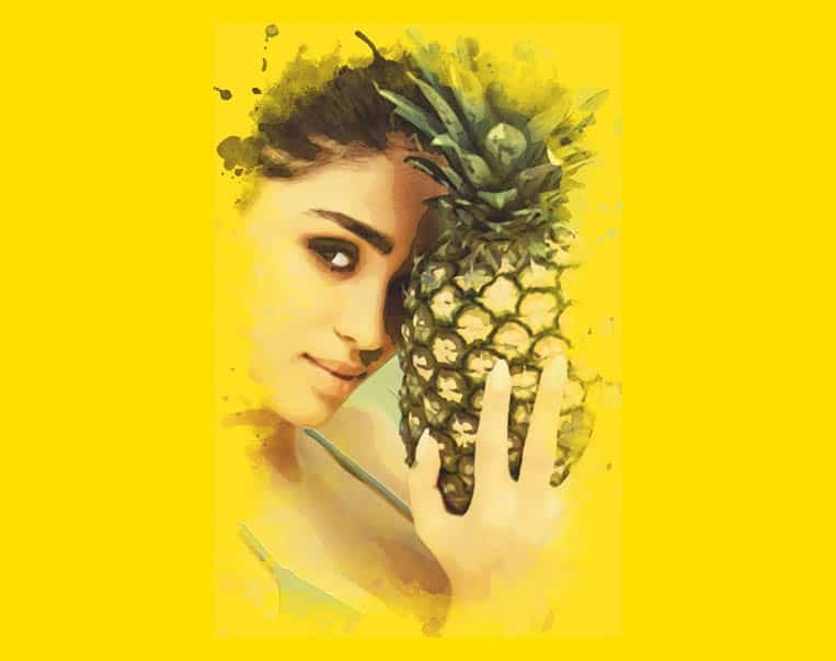 abacaxi-ananas-pineapple-model